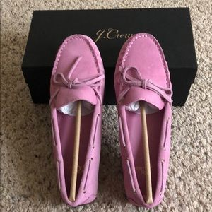 NWT J.Crew Driving Moc Loafer (suede).